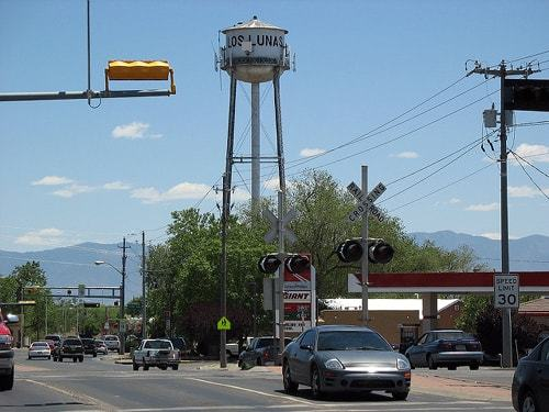 Image of downtown Los Lunas